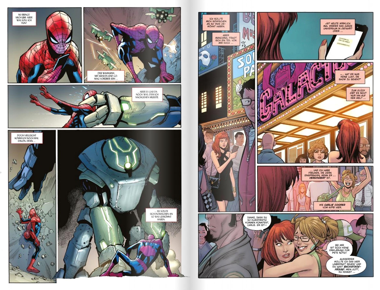 Spider-Man-Comic-Doppelseite-1