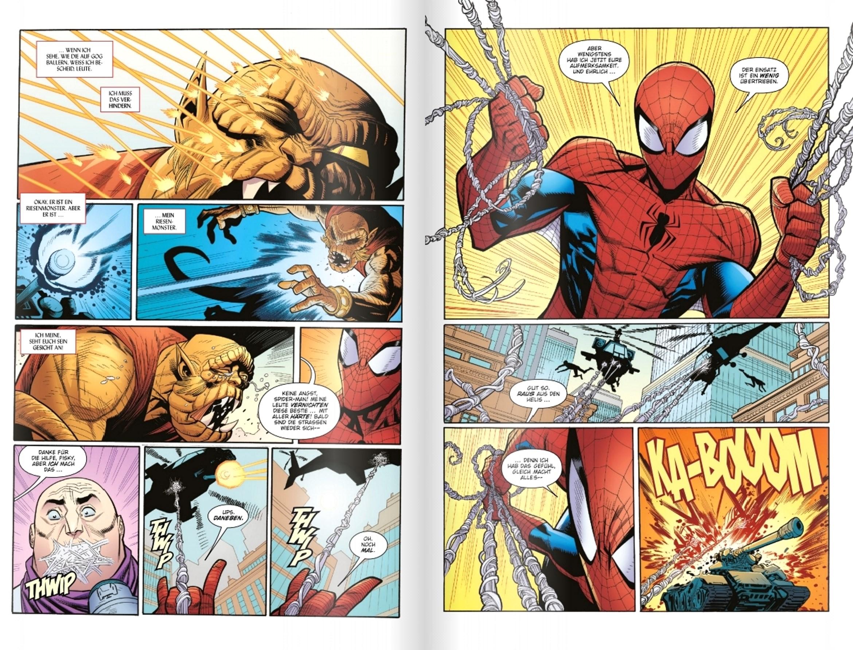 Spider-Man-Comic-Doppelseite-3
