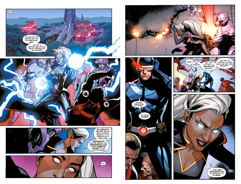 X-Men-Comic-Doppelseite-1