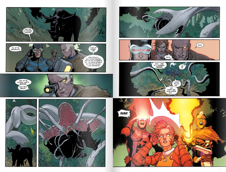 X-Men-Comic-Doppelseite-2